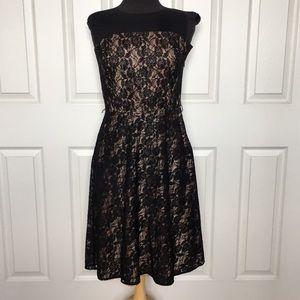 The LOFT black cocktail dress